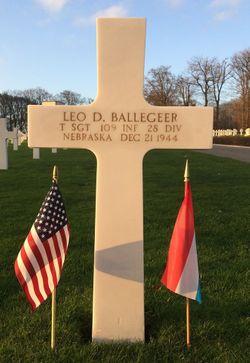 TSgt Leo D. Ballegeer