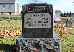 Mary Emma <I>Firestone</I> Grissinger