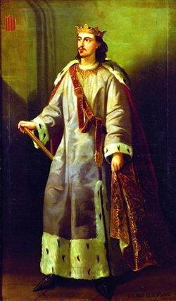 """Alfonso III """"El Liberal"""" de Aragon"""