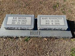Mary <I>Pennington</I> Huff