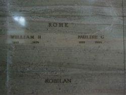Pauline Gladys <I>Lindstrom</I> Rohe