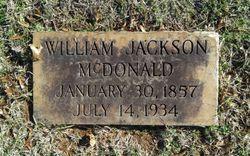 """William Jackson """"Cap'n Jack"""" McDonald"""