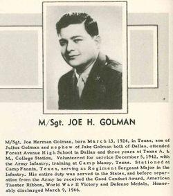 Joe Herman Golman