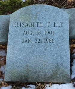 Elisabeth Anne <I>Taylor</I> Ely