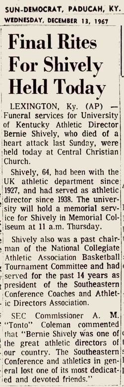 Bernie A Shively