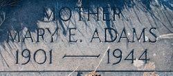 Mary Emma <I>Blyler</I> Adams