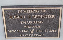 Robert D Bedinger