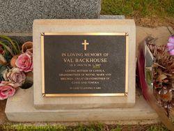 """Valerie May """"Val"""" <I>Hush</I> Backhouse"""