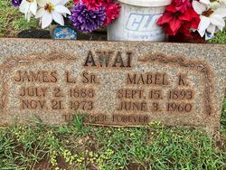 Mabel K <I>Ahuna</I> Awai