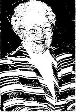 Mamie <I>Pederson</I> Sime