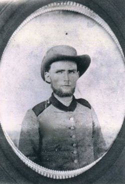 "Pvt Joseph Calhoun ""Joe"" Burns"