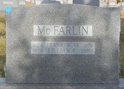 Frank W. McFarlin, Sr