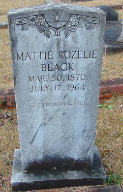 Mattie Rozelie Black