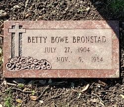 Betty Bowe <I>Davis</I> Bronstad