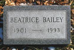 Beatrice M <I>Jones</I> Bailey