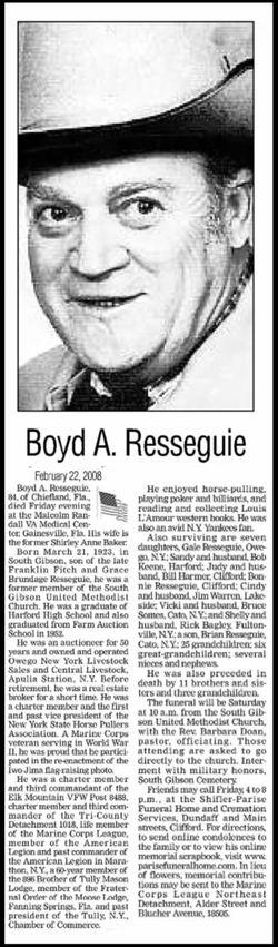 Boyd A. Resseguie