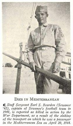 SSGT Earl S. Bearden
