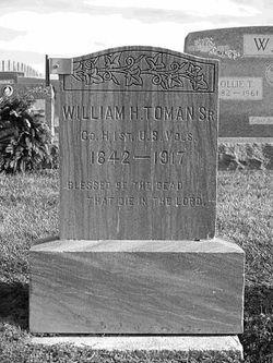 Pvt William Henry Rogers Toman, Sr