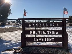 Manzanola Mountainview Cemetery