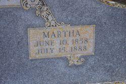 Martha Jane <I>Claridge</I> Anderson