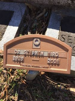 Dr Stephen C. Bird