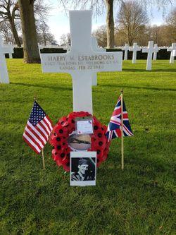 Staff Sergeant Harry W Estabrooks