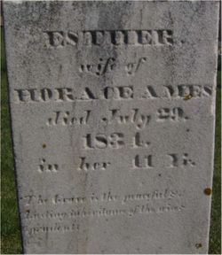 Esther Hannah <I>Ladd</I> Ames