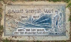 Mildred <I>Rexford</I> Vary