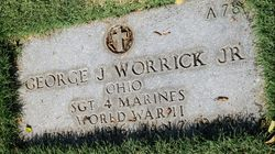 Sgt George J Worrick Jr.