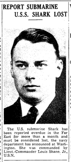LCDR Louis Shane Jr.