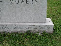 2LT Paul S Mowery Jr.