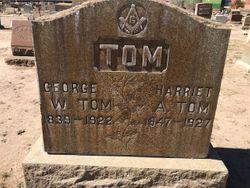 Harriet A <I>Coe</I> Tom