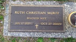 Ruth <I>Christian</I> Murff