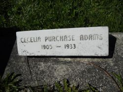 Cecelia Purchase <I>Purchase</I> Adams