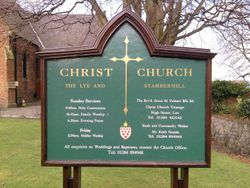 Christ Church, The Lye and Stambermill