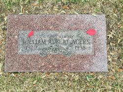 "William Albert ""Billy"" Acers"