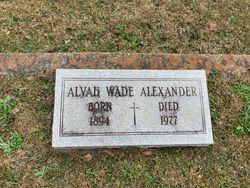 Alvah Wade Alexander