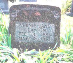Vernie Lane <I>Winfrey</I> Clayton