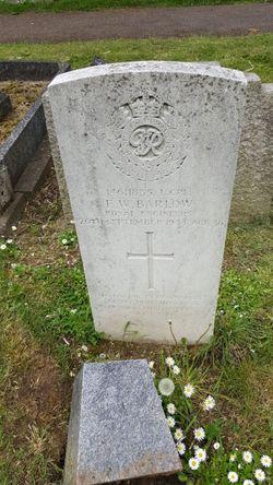 LCPL Ernest William Barlow