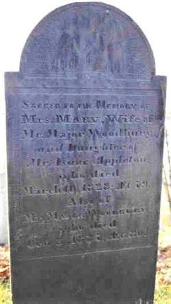 Mary <I>Appleton</I> Woodbury