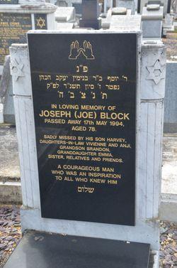 """Joseph """"Joe"""" Block"""