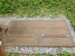 Mildred G <I>Ravan</I> Bagwell