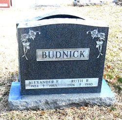 Ruth Rosalie <I>McConnell</I> Budnick