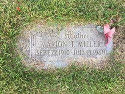 Marion Theresa <I>Buchmann</I> Miller