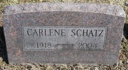 Carlene W. <I>Lamb</I> Schatz