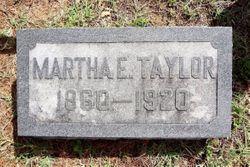 Martha E. <I>Collins</I> Taylor