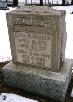 Cora G. <I>Weidman</I> Musser