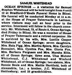 Samuel S. Whitehead