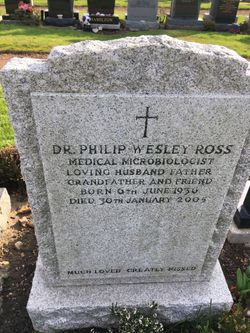 Dr Philip Wesley Ross