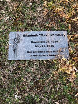 Elizabeth Maxine <I>Pharr</I> Tillery